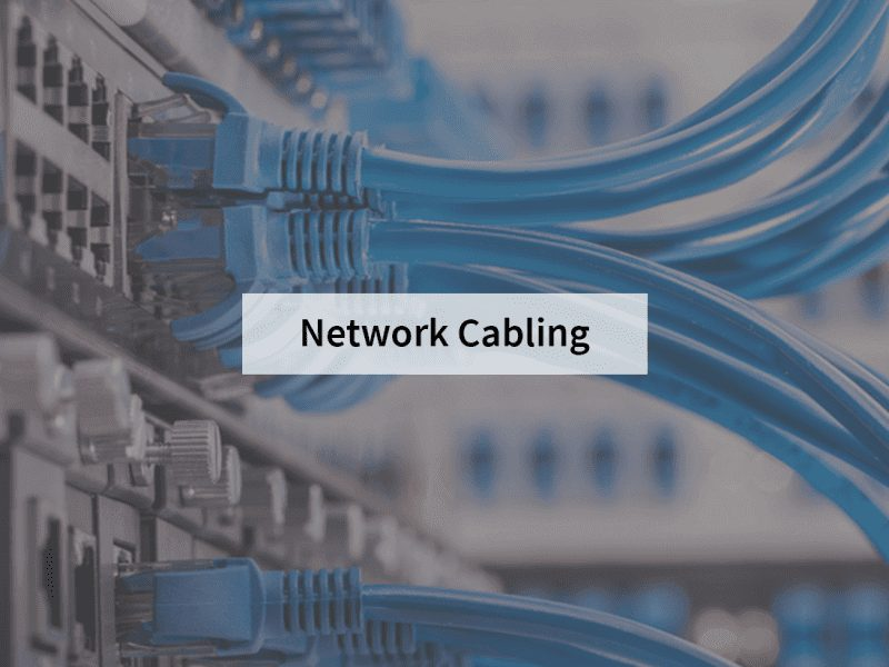 Network cabling wiring orange county Irvine